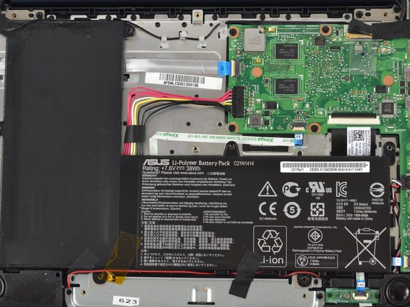 Asus EeeBook X205TA Battery Replacement