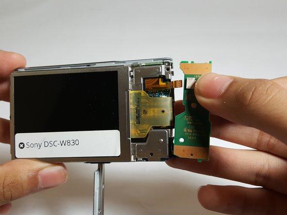 Sony Cyber-Shot DSC-W830 Button Board Replacement