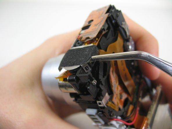 Disassembling Pentax Optio S4i Lens Assembly