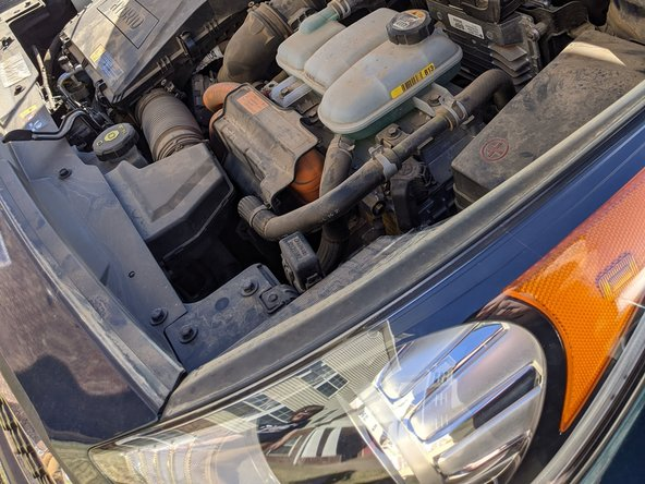 2007 Kia Niro Headlight Replacement