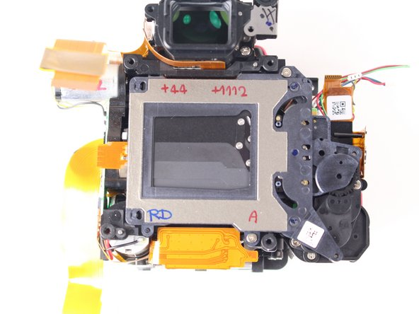 Nikon D7000 Shutter Assembly Replacement