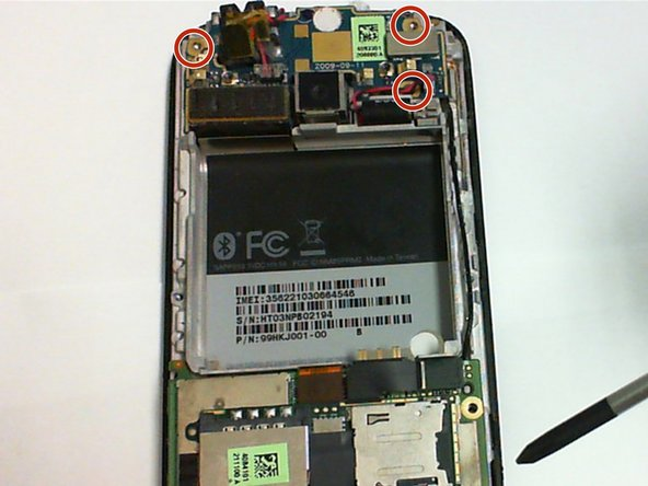 HTC myTouch 3G Camera Replacement