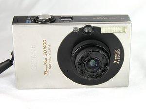 Canon PowerShot SD1000 Repair