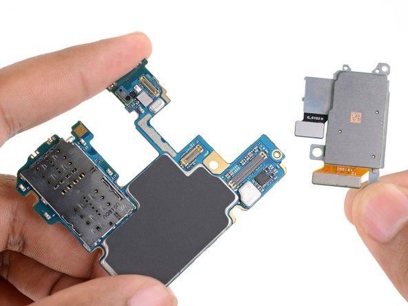 Remove the remaining rear facing camera module.