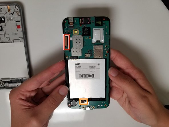Use a spudger or your fingernails to disconnect the screen connector.