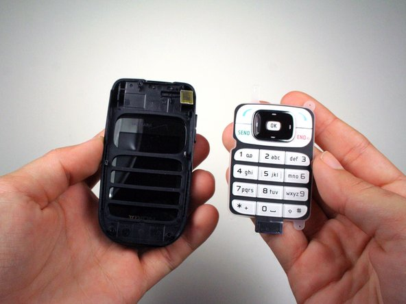 Disassembling Nokia 2366i Keypad