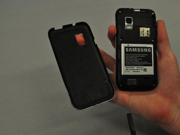 Repairing Samsung Galaxy S SCH i500 Back Case
