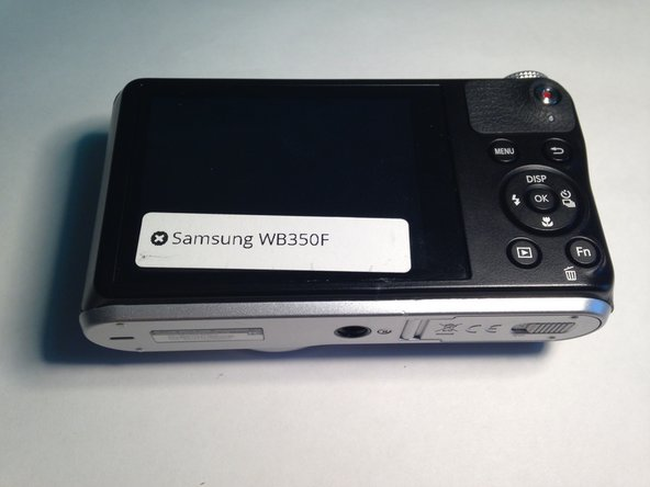 Samsung WB350F Screen Replacement