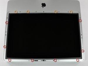 """Installation du cadre avant sur les iMac Intel 20"""" EMC 2133 et 2210"""