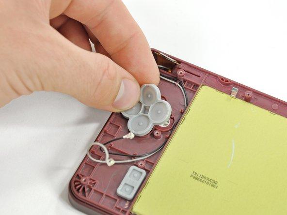Nintendo DSi XL Buttons Replacement