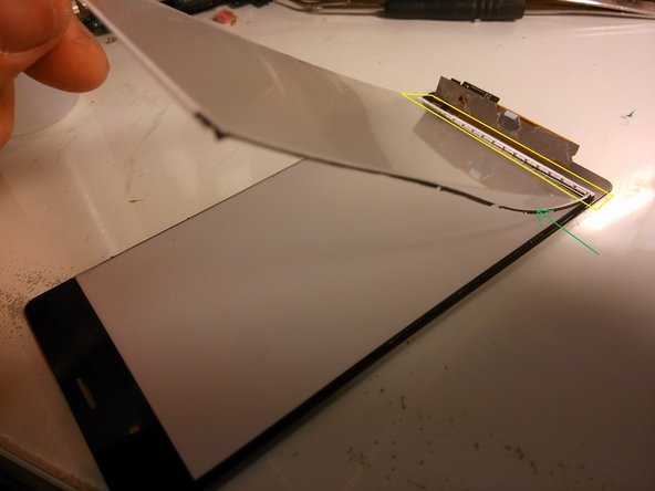 This is the layer that ensures the even, planar spreading of the backlight around the LCD.