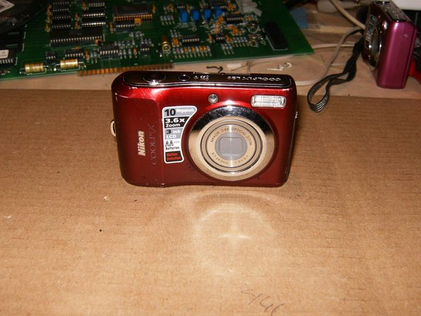 Okay, so here is Nikon Coolpix L20 purchased for $8.00. Only issue identified is an obviously cracked LCD screen