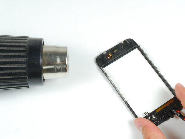 Remplacement du panneau frontal de l'iPhone 3GS