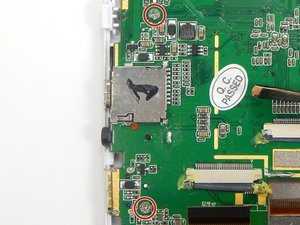 Disassembling Arnova 7K G3 Motherboard