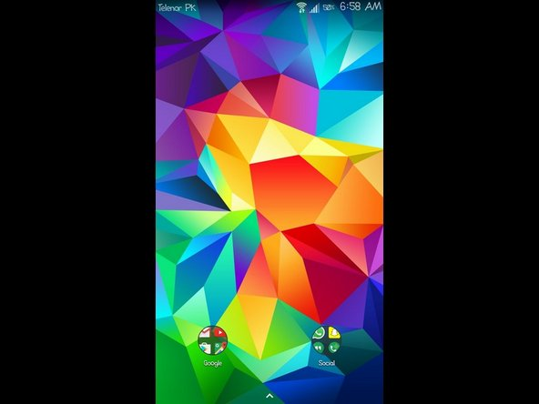In the previous step, you must have noticed that I have mentioned how AMOLED affects the phone's battery. However, in this step, we will be taking advantage of the display screen type and use a true-black wallpaper to save a significant amount of battery power.