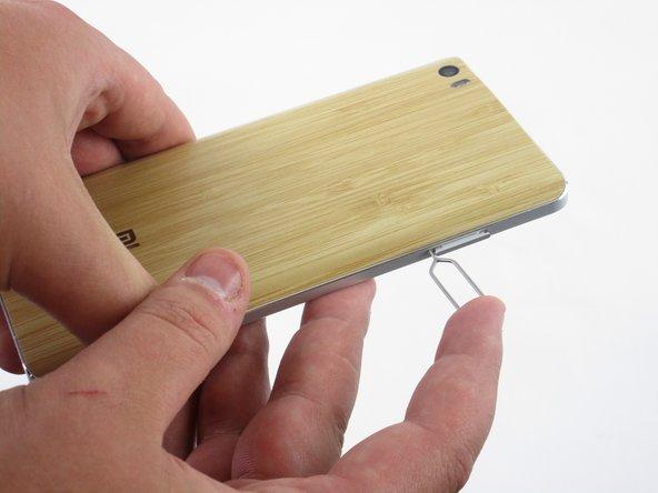 Xiaomi Mi Note Dual SIM SD Card Replacement