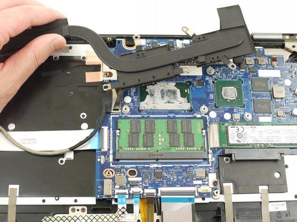Lenovo IdeaPad Flex 5-1570 Heatsink Replacement