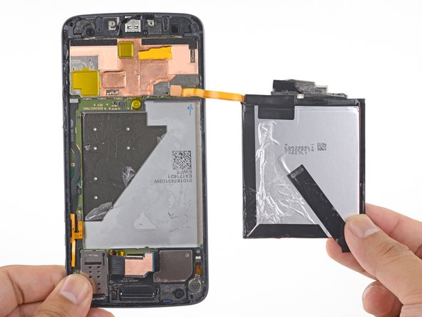 Remove the battery.