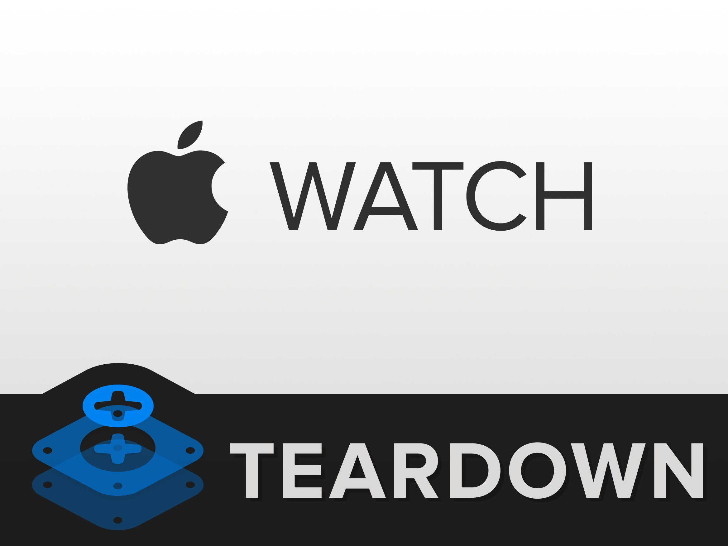 Apple Analog Watch Teardown