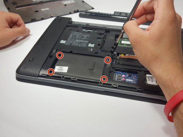 HP ProBook 455 G1 Hard Drive Replacement