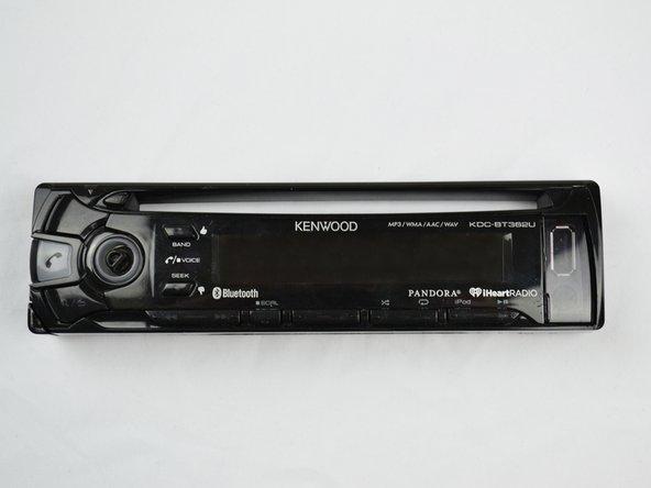 Kenwood KDC-BT362U LCD Screen Replacement