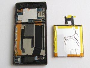 索尼 Xperia Z 电池更换
