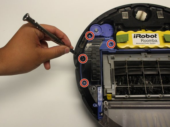 Remove the 15 mm screws with the Phillips #0 screwdriver bit.