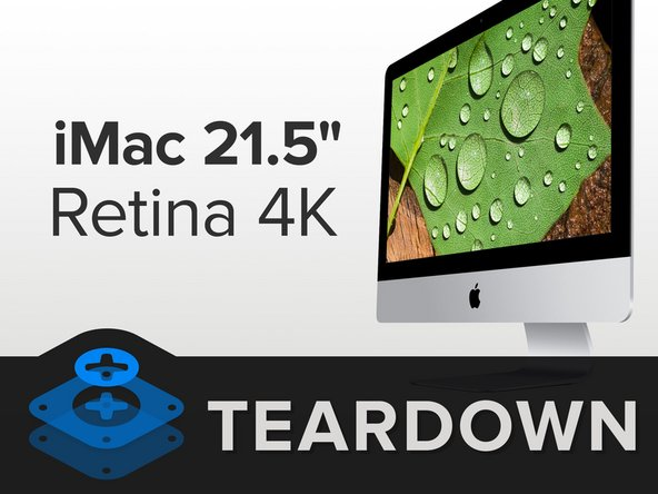 "Along with a spectacular display, the 21.5"" Retina 4K iMac has some new age specs:"