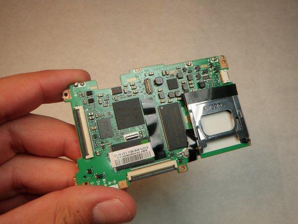 Sanyo VPC S1275 Logic Board Replacement