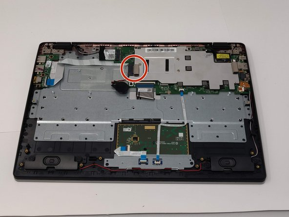 Remove the solid state drive.