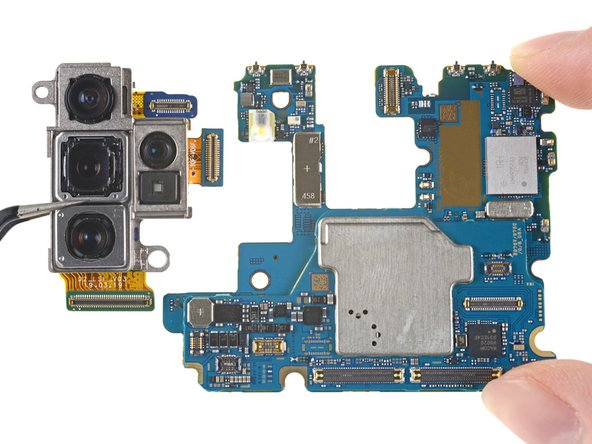 Samsung Galaxy Note10+ Rear Camera Module Replacement