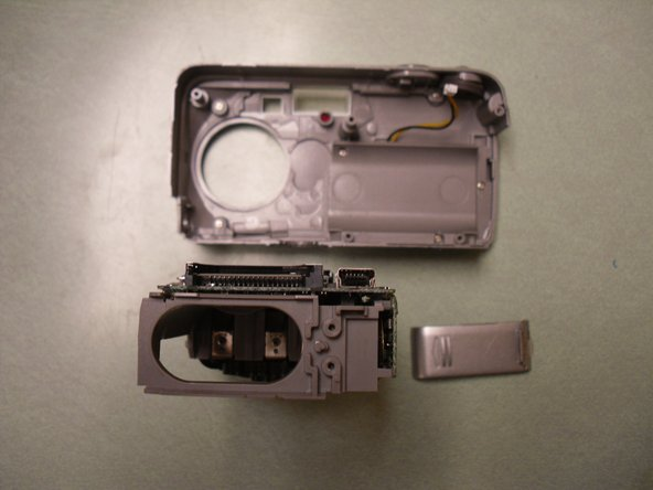 Your battery compartment cover should now be completely removed and ready for repair or replacement.