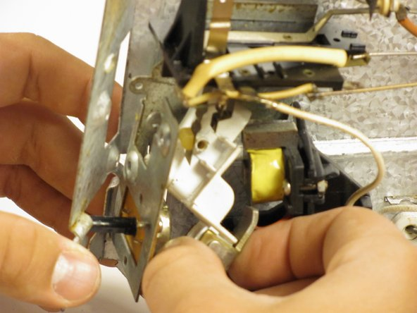Remove switch from the opening it protrudes from.