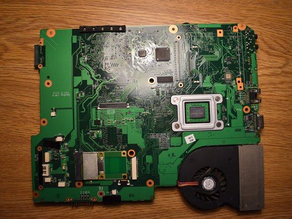 Toshiba Satellite L505 Laptop Fan Replacement