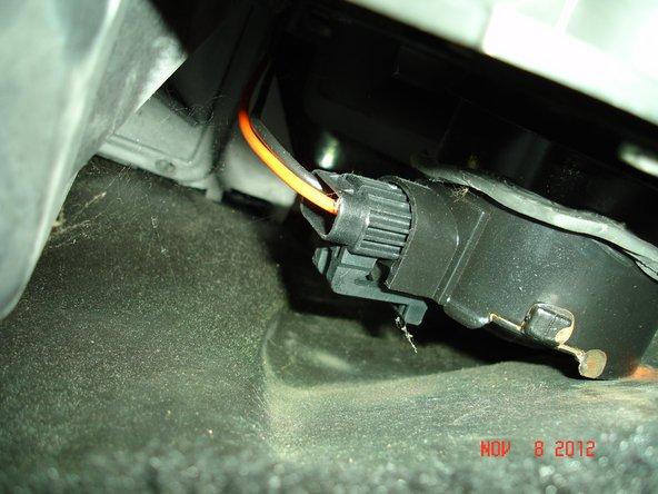 1991 Mustang HVAC Blower Motor Replacement
