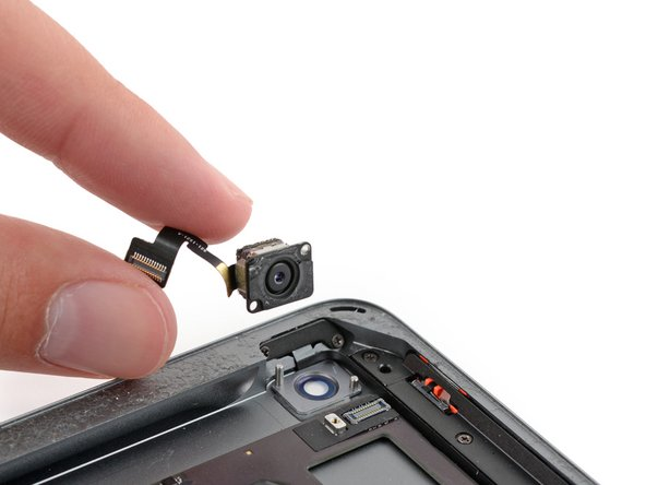 Remplacement de la caméra arrière de l'iPad 5 Wi-Fi