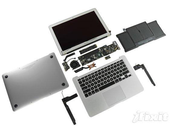 "MacBook Air 13"" Mid 2011 Repairability: 4 out of 10 (10 is easiest to repair)."
