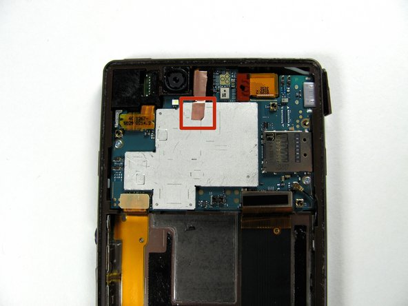 Do not remove all the copper tape. Only remove the copper tape attached to the silver part of the motherboard.
