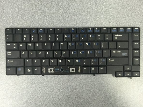 HP Compaq 6910p Keyboard Replacement