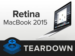 Retina MacBook 2015 Teardown