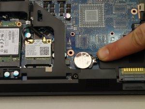 BIOS Batterie auswechseln