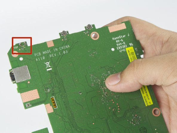 Acer Iconia A110 On/Off Switch Replacement