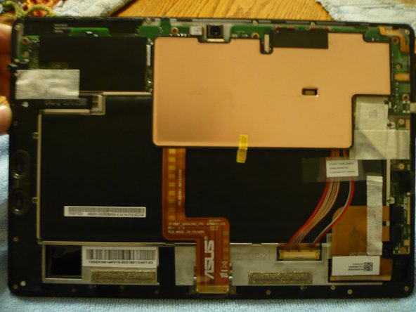 Note the large copper heatsink.  DO NOT pull this off.