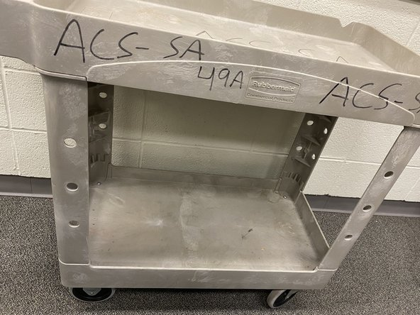 Tool Cart Wheel Replacement