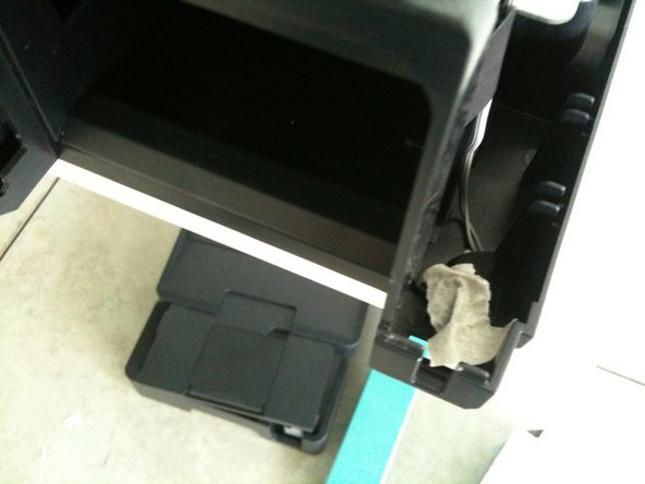 If you want to test the printer you need to insert paper, and cover 2 switches with tape.