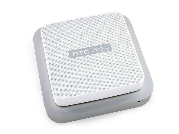 Did HTC secretly send us a Mac Mini? No, but it's definitely a uniquely designed box.