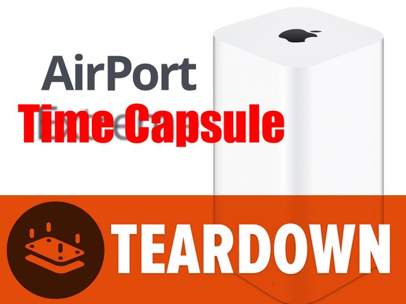 Today I went rogue. While the other tech writers were taking apart an as-yet-unnamed device (oh the secrecy!), I took apart the AirPort Time Capsule.