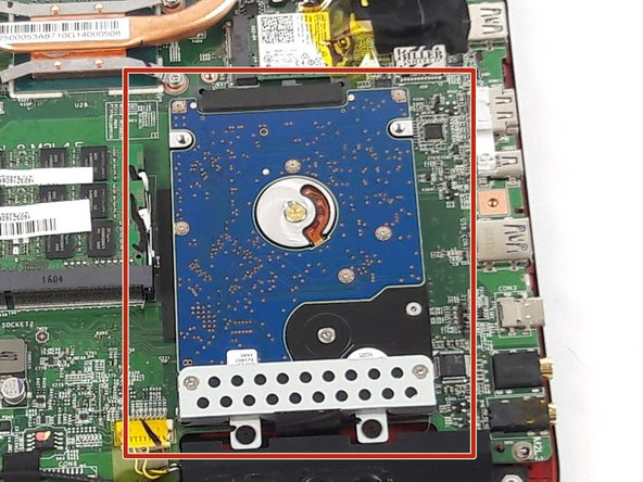 MSI GE62 6QF Apache Pro Hard Drive Replacement