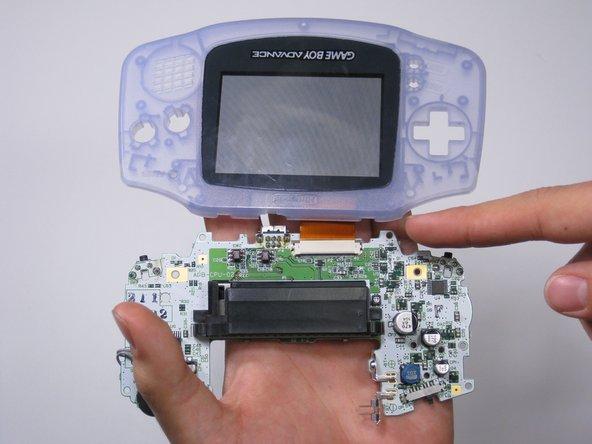 Remplacement du haut-parleur d'une Game Boy Advance