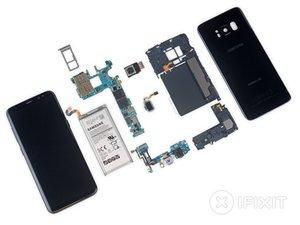 Smontaggio Samsung Galaxy S8